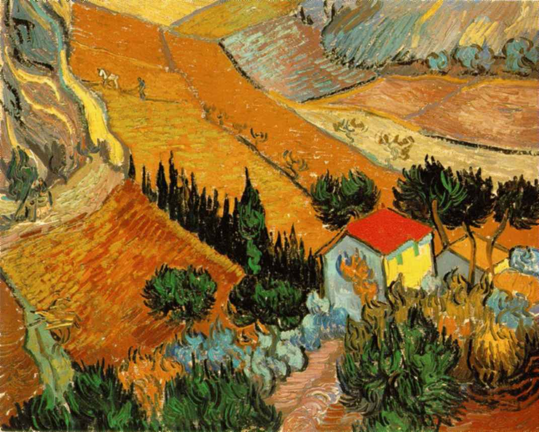 Webmuseum Gogh Vincent Van Other Landscapes