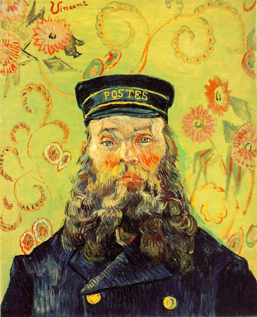 Webmuseum Gogh Vincent Van Portraits