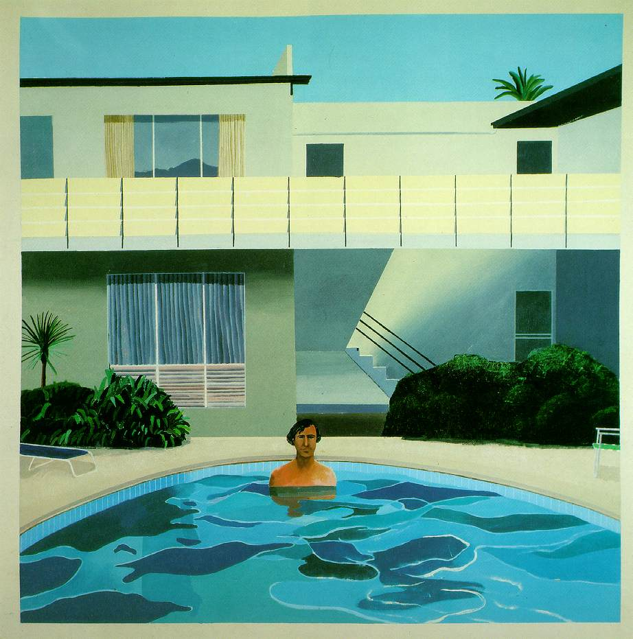 Drawing Swimming Pools : Webmuseum hockney david