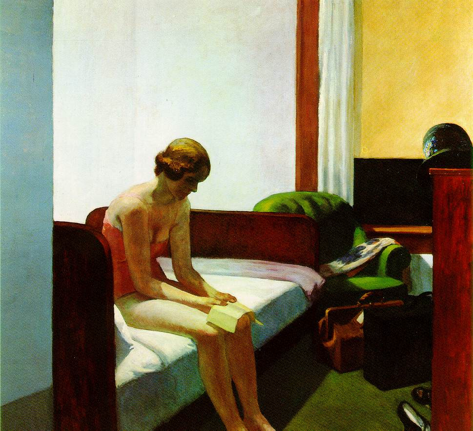"""Hotel Room"", Edward Hopper (1931)"