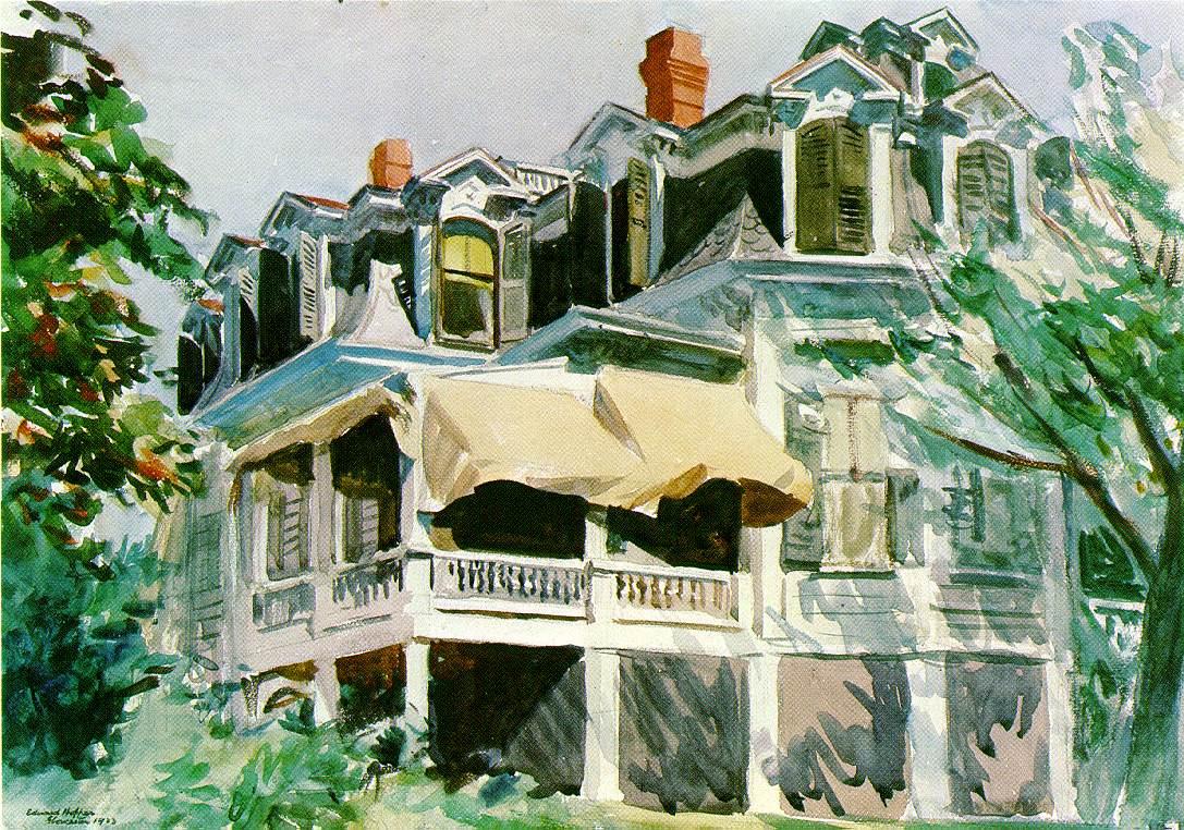 Webmuseum Hopper Edward Landscapes