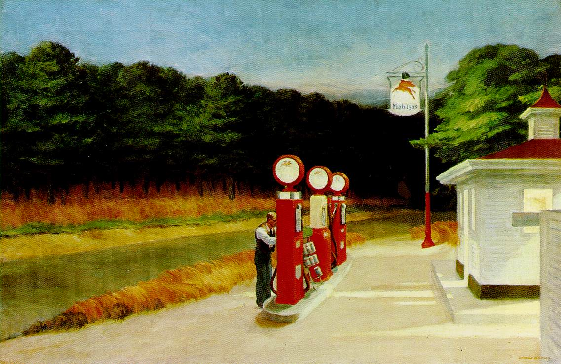 Edward Hopper, &quot;Gas&quot; (1940)