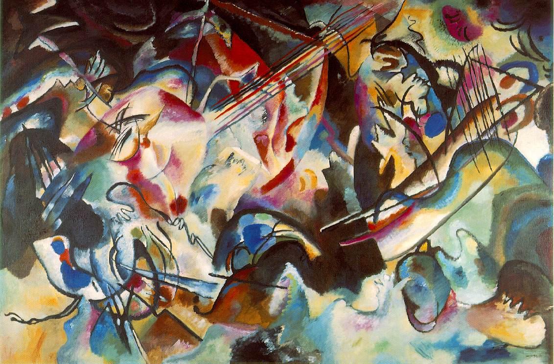 Algunas Obras de Kandinsky