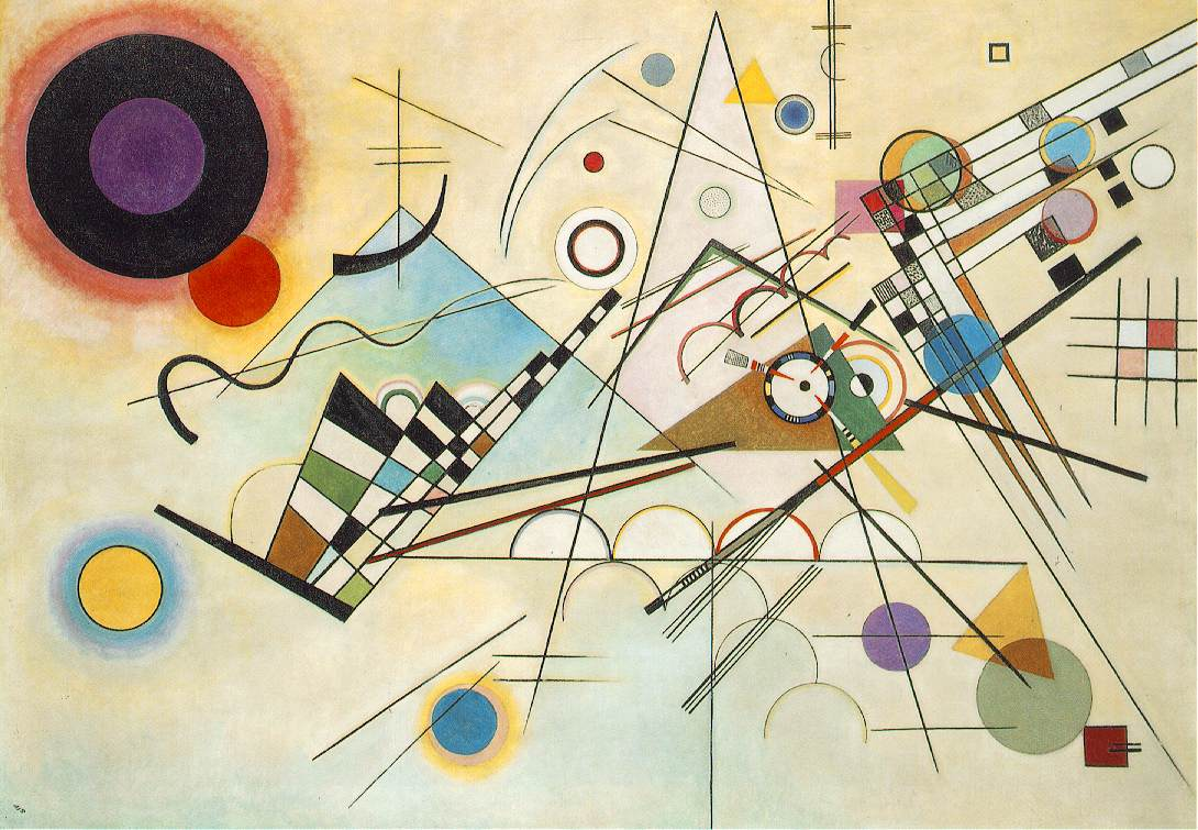 Composition VIII - Kandinsky (WebMuseum Paris)