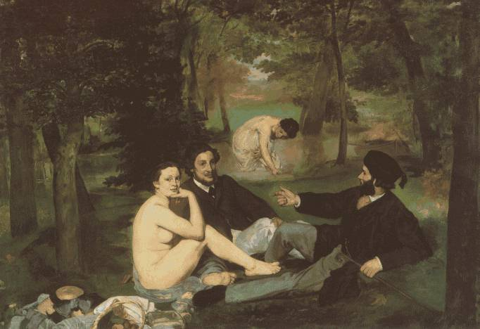 by Manet