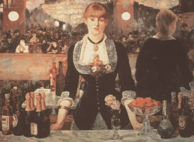 "Manet, ""A Bar at the Folies-Bergere"" (1882)"