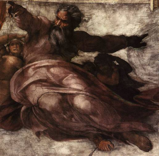 Michealangelo's Creation of Man