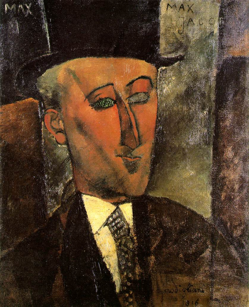 Max Jacob, par Modigliani
