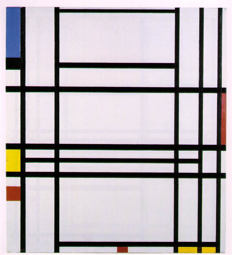 In New York Mondrian concluded