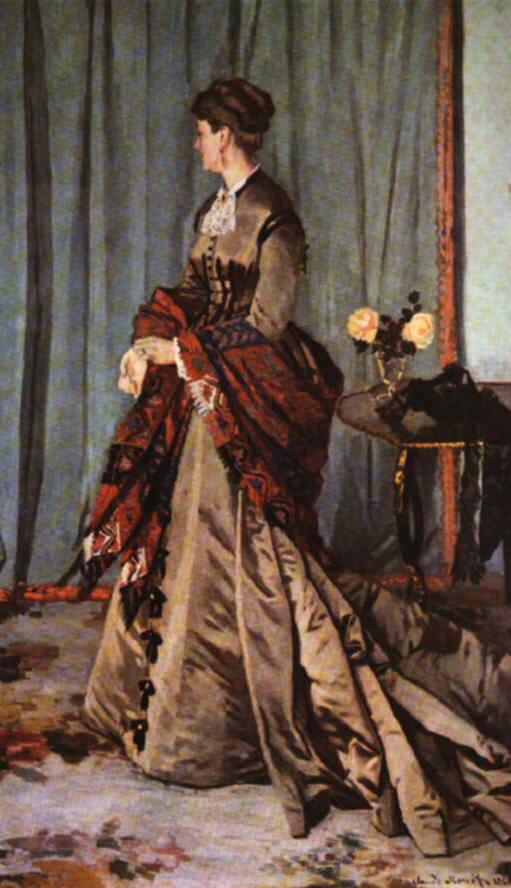 webmuseum  monet  claude  madame gaudibert
