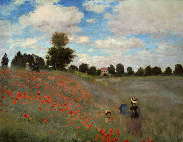 Webmuseum monet claude first impressionist paintings for Claude monet impressionist paintings