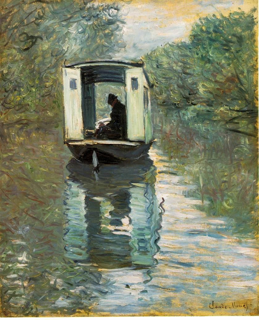 atelier the boat studio 1876 160 kb oil on canvas 72 x 59 8 cm 28 3 8