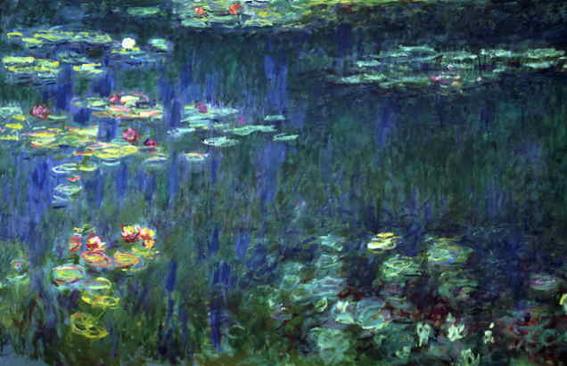 Image result for monet lilie