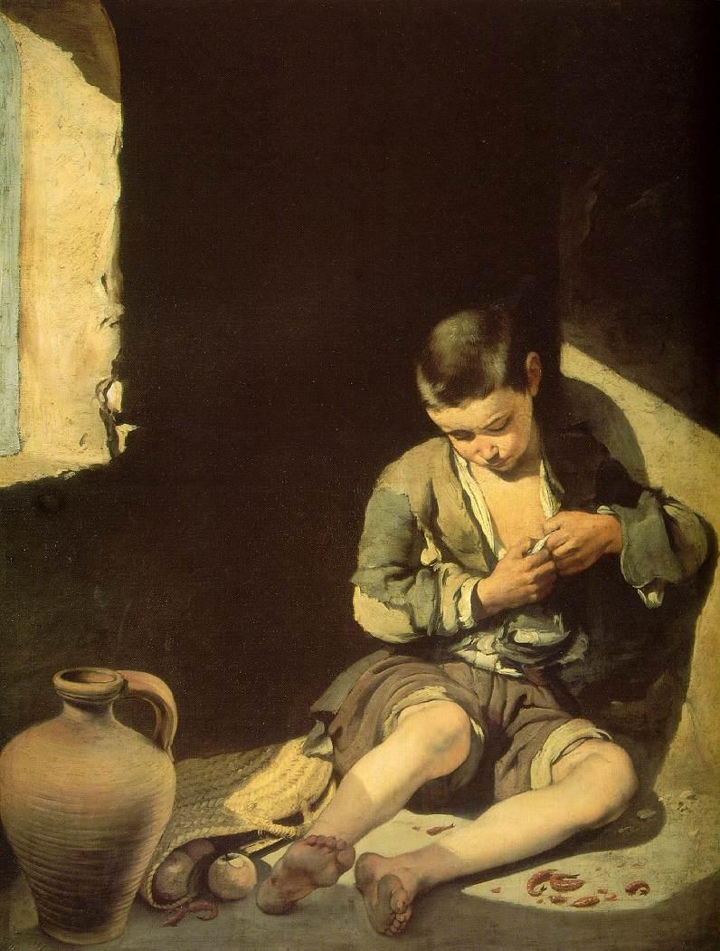 اشهر اللوحات التشكيلية Beggar