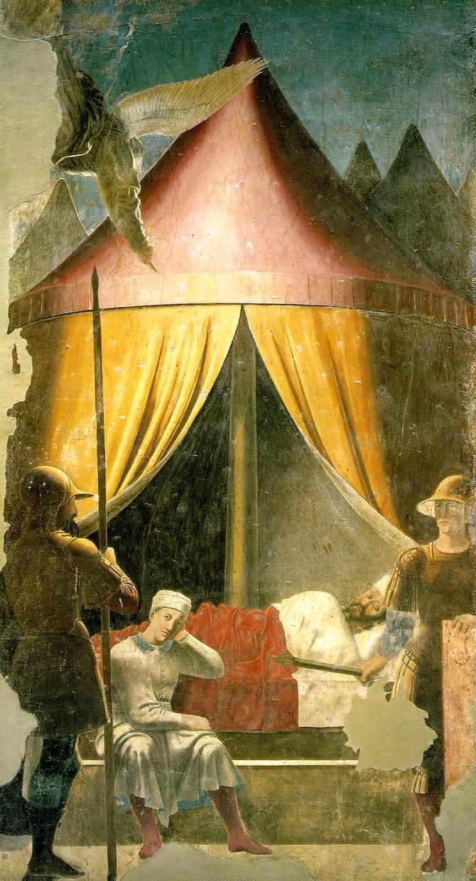 Piero della Francesca: Constantine's Dream