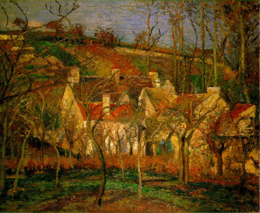 卡米耶·毕沙罗 Camille Pissarro - 水木白艺术坊 - 贵阳画室 高考美术培训