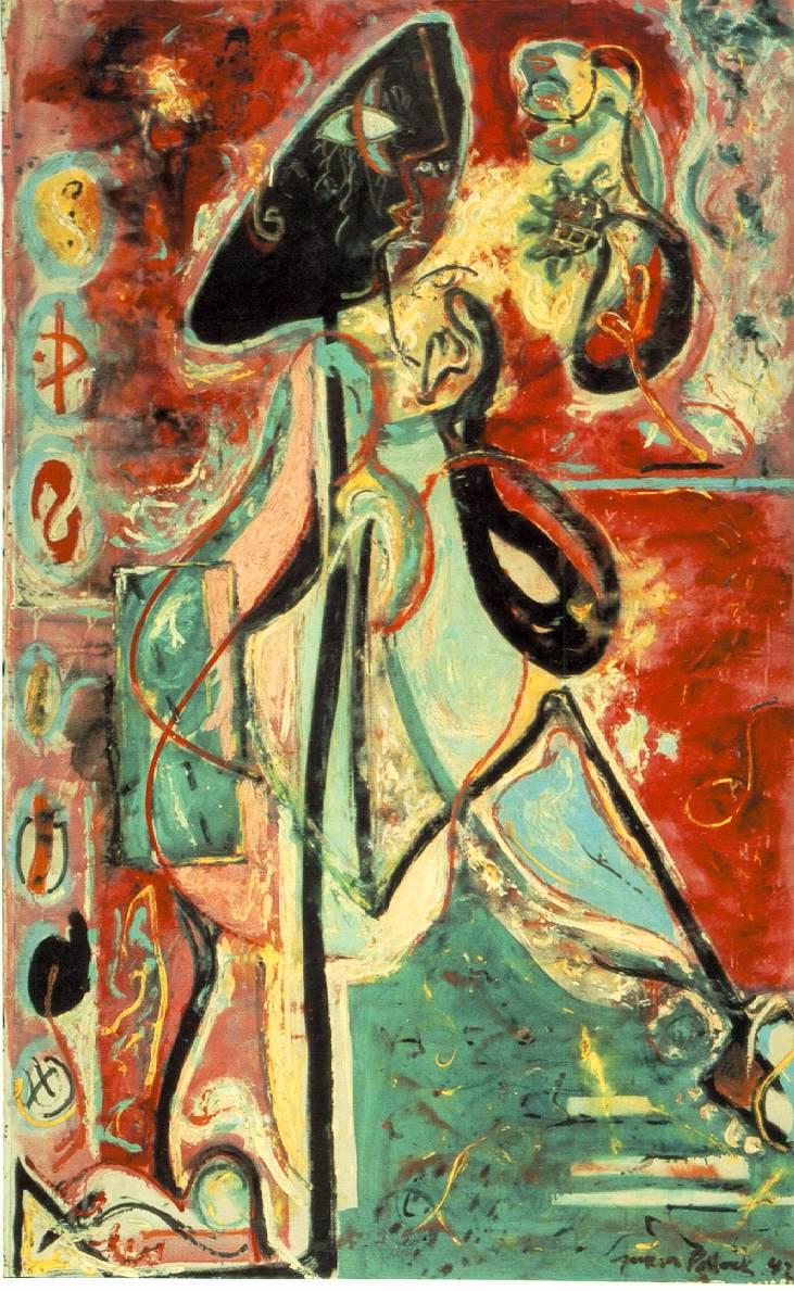 The_Moon_Woman_de_Jackson_Pollock