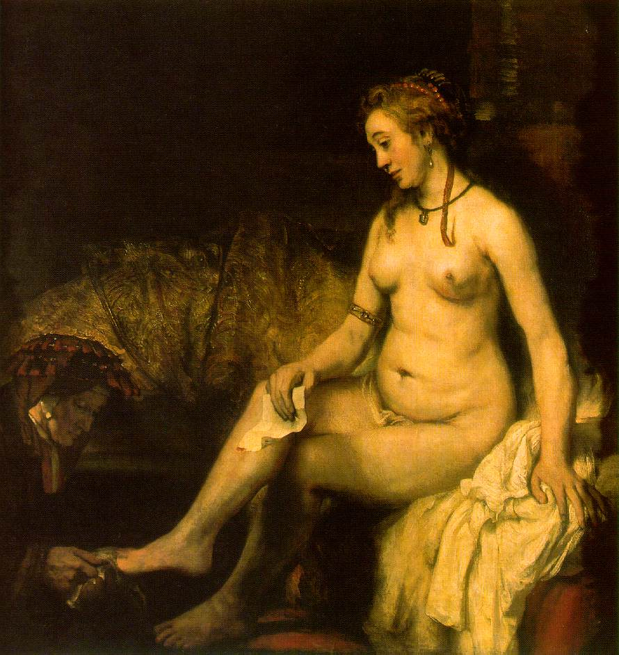 Bathsheba with The Letter Of David by Rembrandt  1654