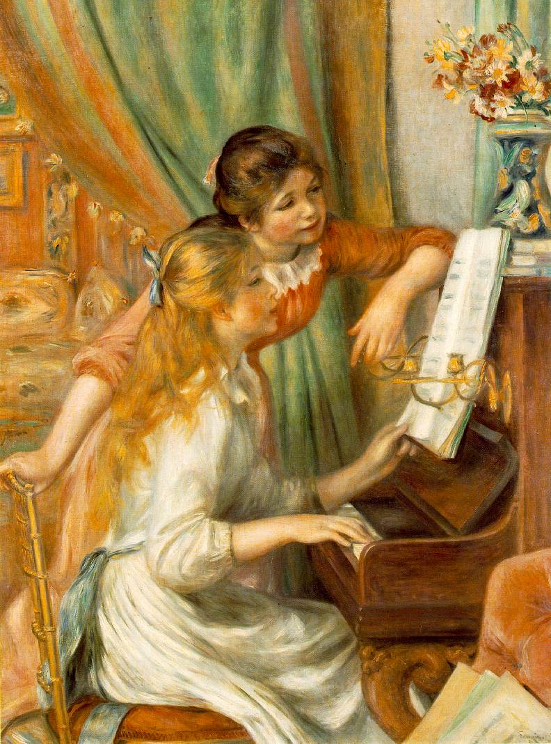 Jeunes Filles Au Piano  Girls At The Piano
