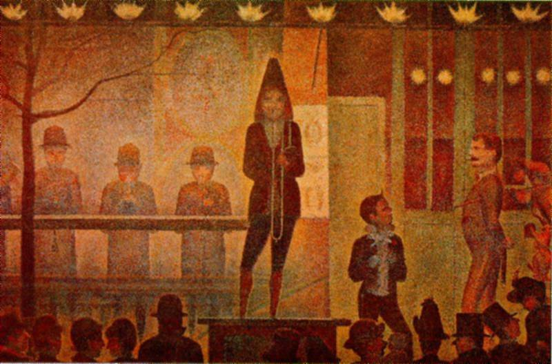georges seurat the circus - photo #23