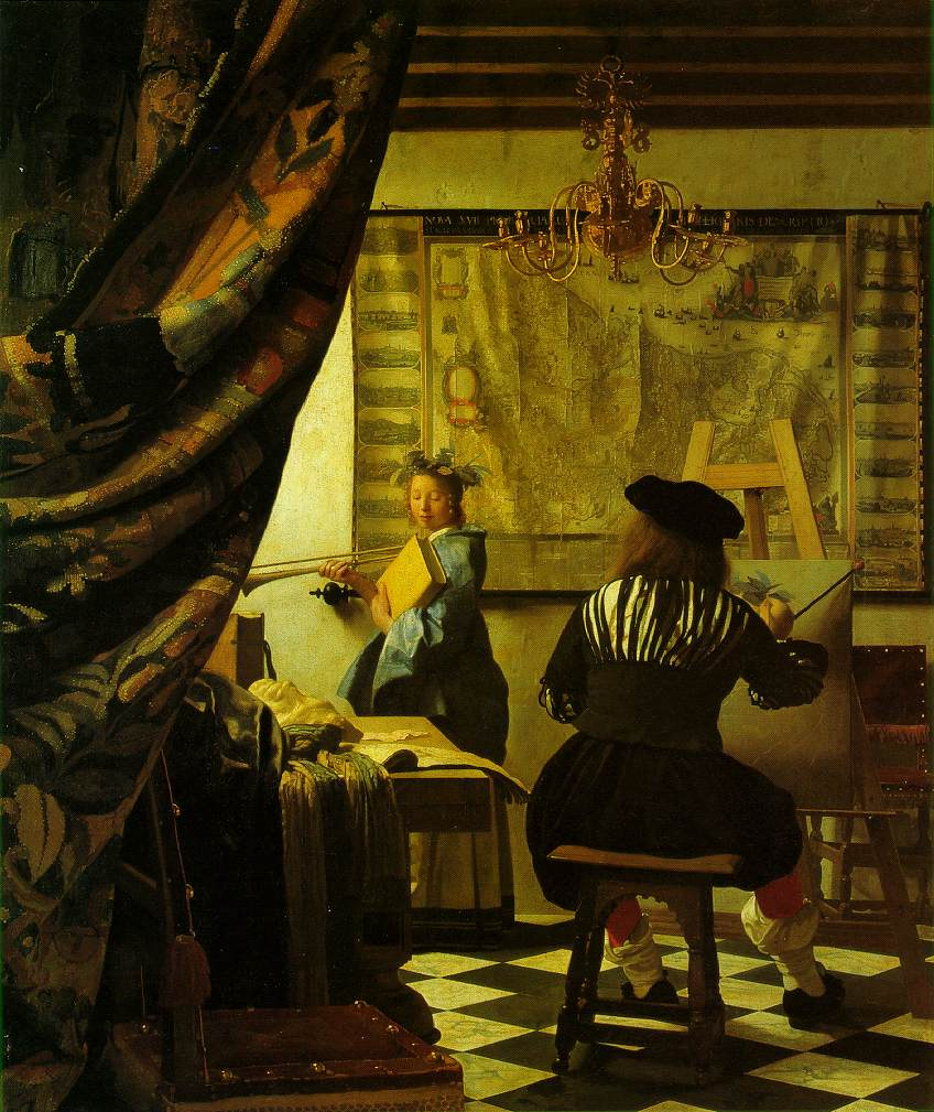 Webmuseum Vermeer Jan The Art Of Painting