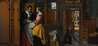 Webmuseum Vermeer Jan The Love Letter