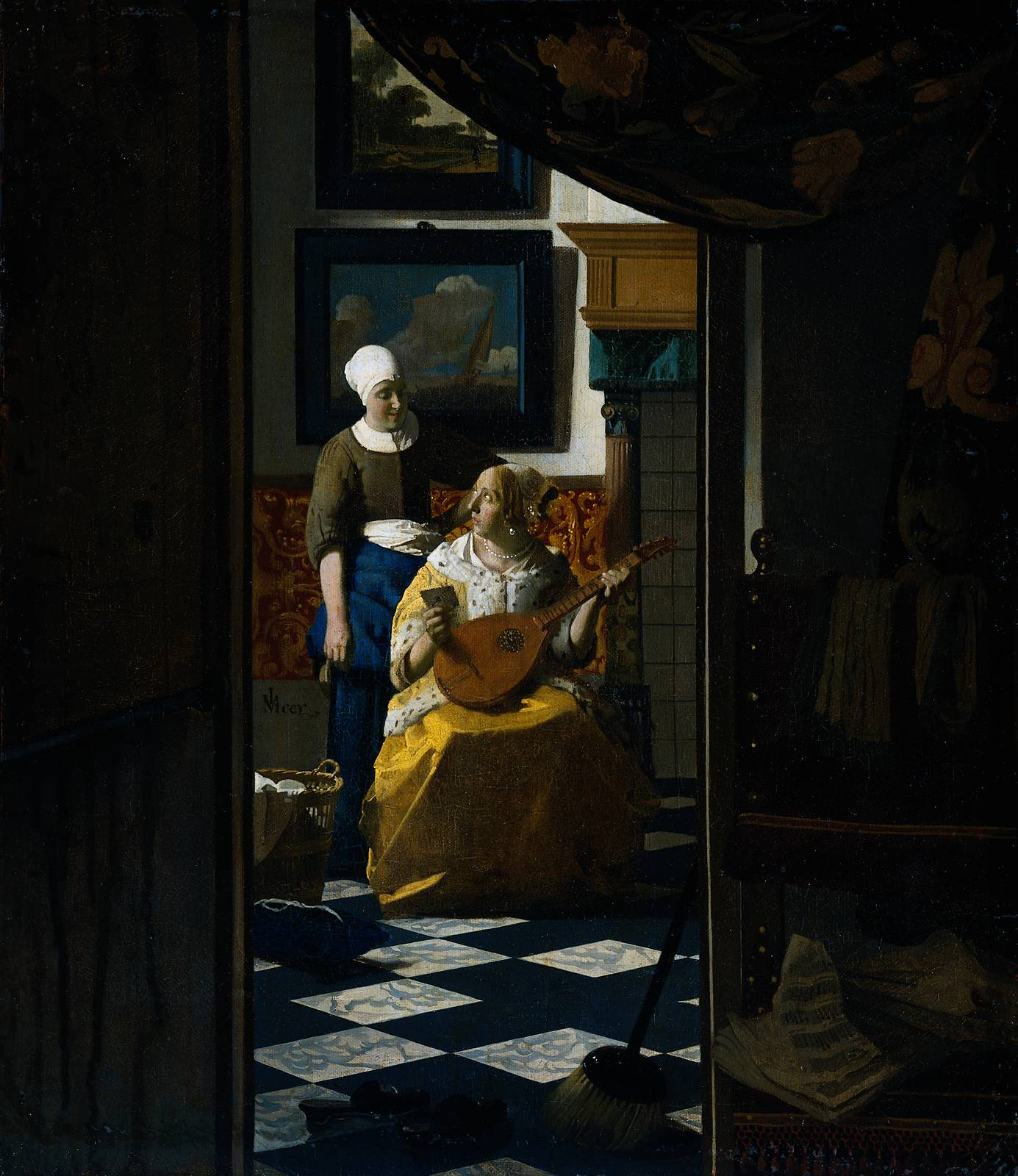 WebMuseum: Vermeer, Jan: The Love Letter