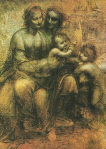 Webmuseum Leonardo Da Vinci From Sketches To Paintings