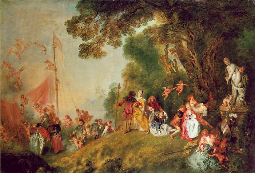 Jean Antoine Watteau - Page 2 Pilgrimage