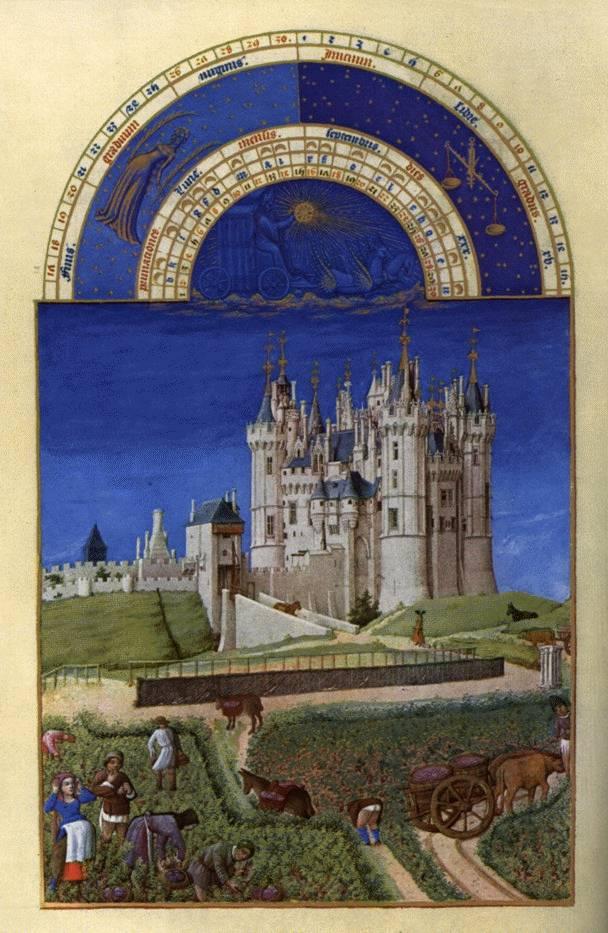 Zu Gottingen Tres Riches Heures Duc De Berry