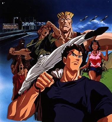 Manga e Anime Street Fighter