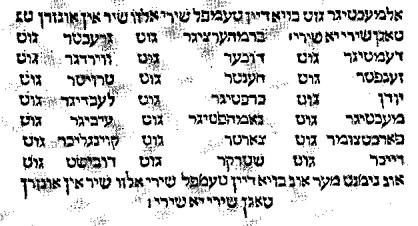 Yiddish Vs Hebrew yiddish - définit...