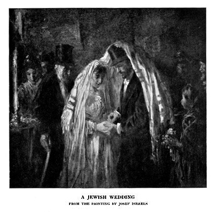 A JEWISH WEDDING From the painting by Josef Israels