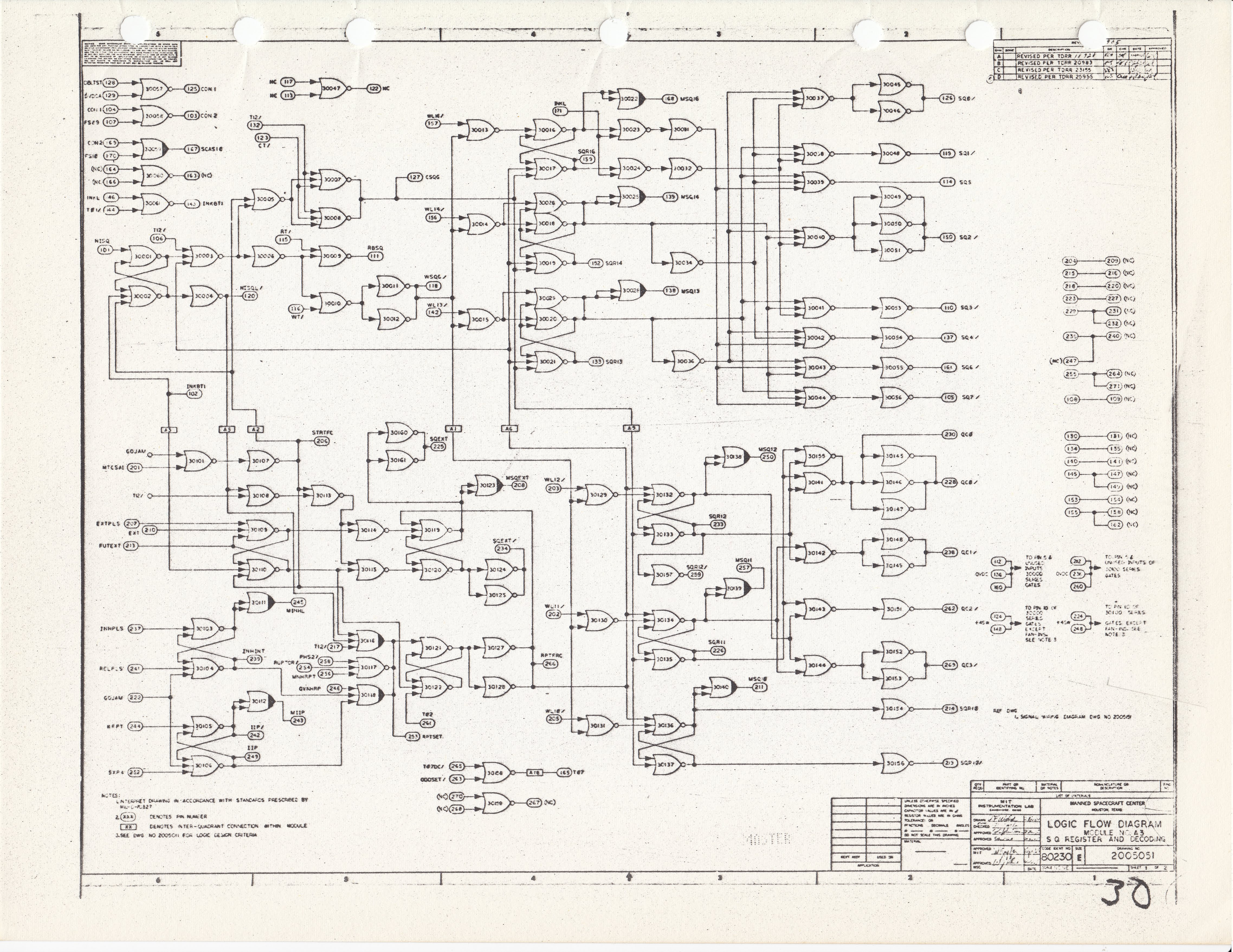 Virtual Agc Electrical Mechanical Page Figure 1 First Rf Amplifier Module A3 Schematic Diagram 2005151b 2 3 4