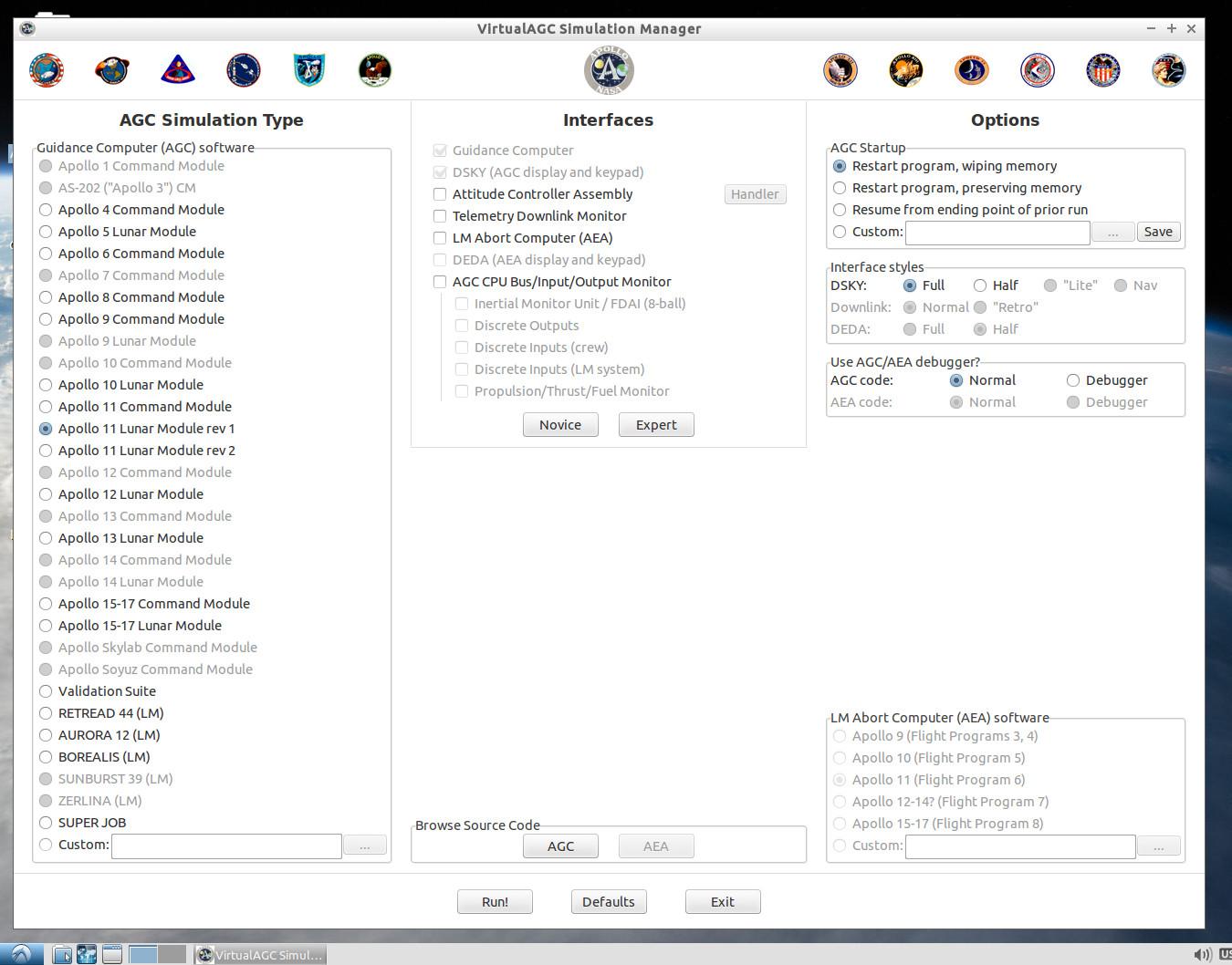 Virtual AGC Download Page