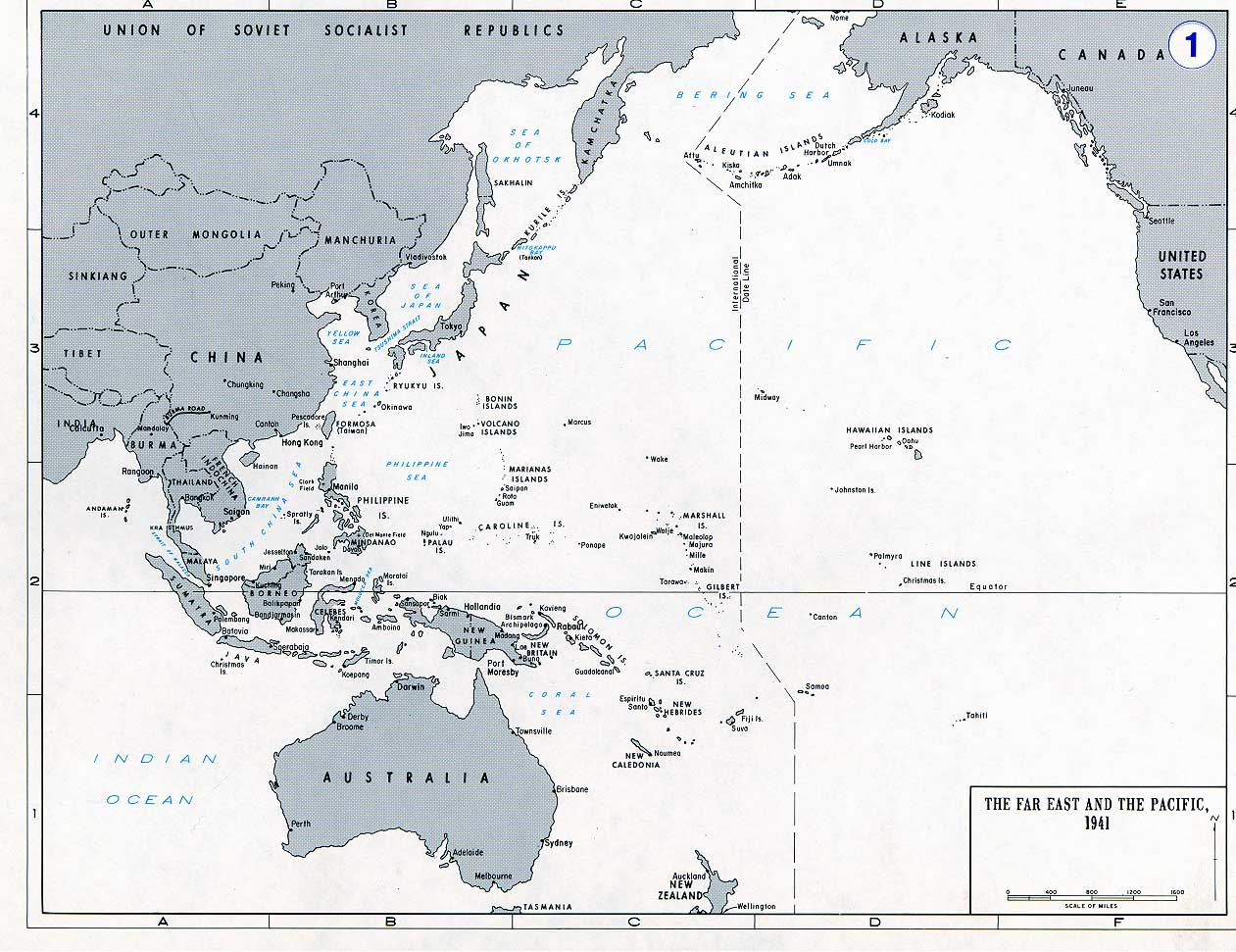 Maps for The World War II Service of William L Hurley