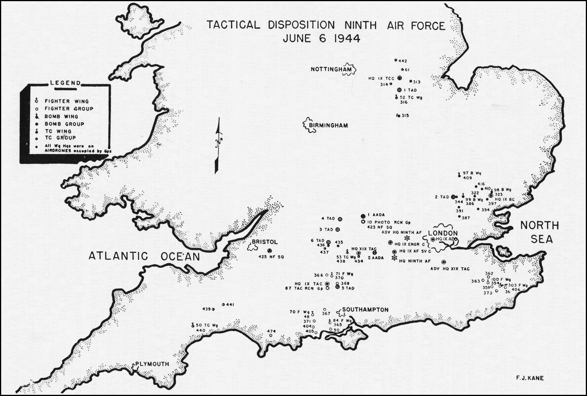 Air Force Bases In England Map.Hyperwar Army Air Forces In World War Ii Volume Iii Europe