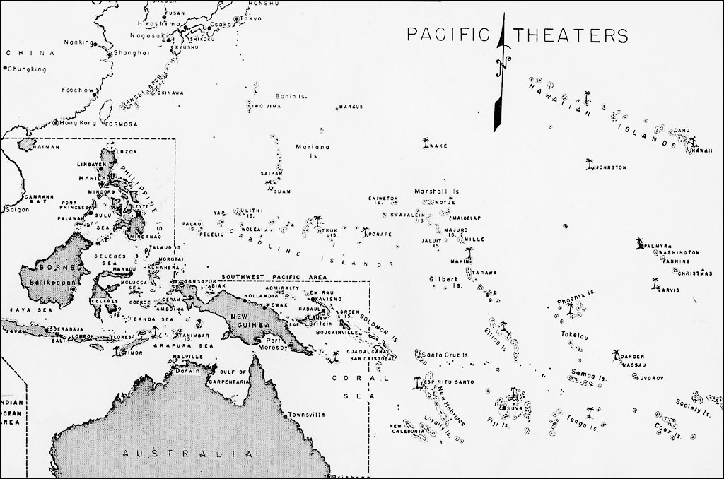 Elegant Map 1: Pacific Theaters