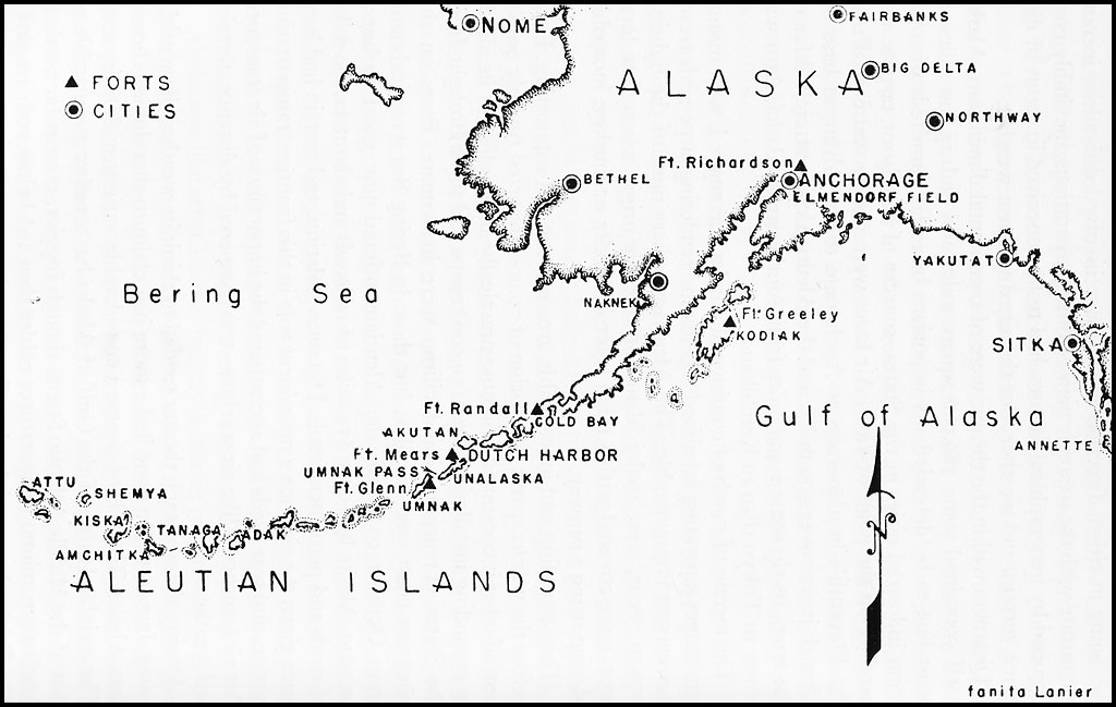 aleutian islands diagram hyperwar: the army air forces in wwii: vol. iv--the ... #10