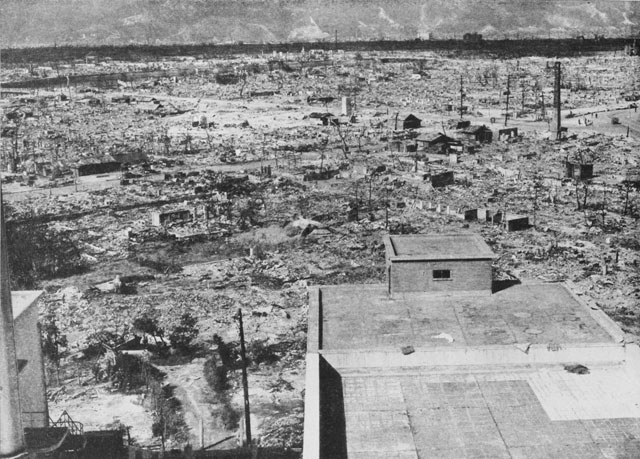 an analysis of the effects of the first atomic bomb used on hiroshima (the effects of radiation are usually not immediately apparent)  the american public that the united states had dropped an entirely new type of bomb on the japanese city of hiroshima -.