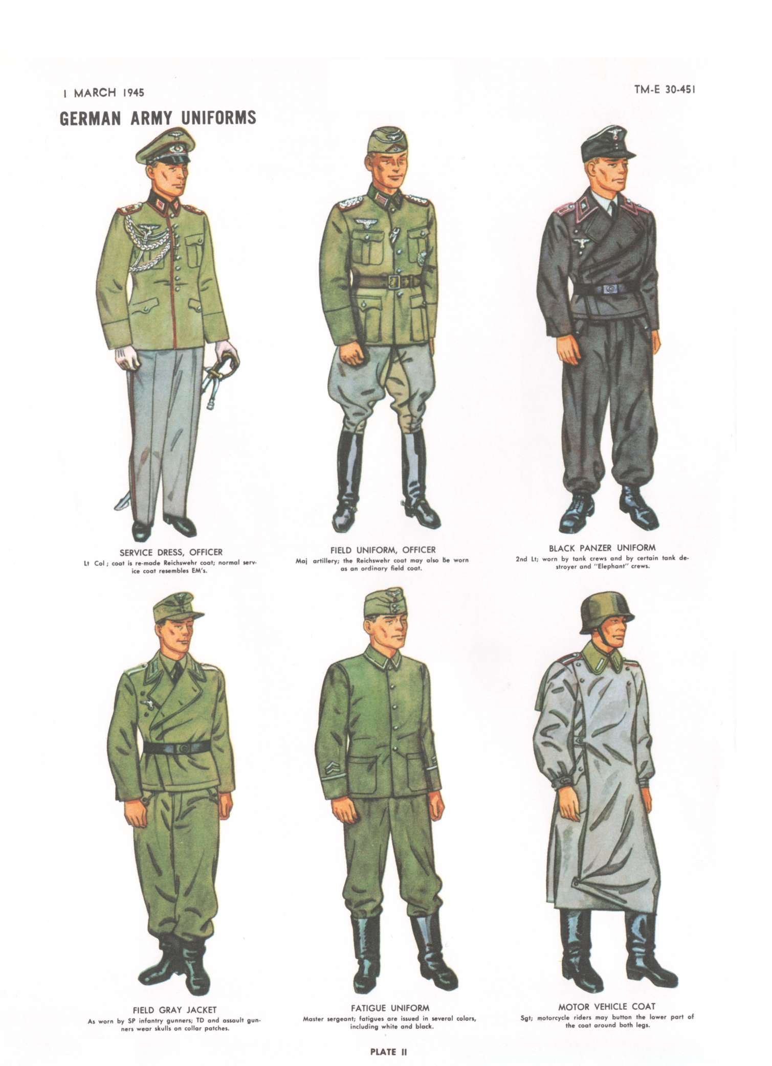Green coat infantry