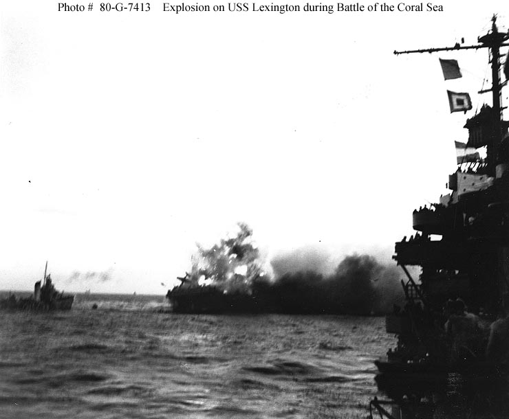 battle of coral sea America's involvement in world war ii was so massive that it's easy to forget lesser-known battles, especially those in the pacific theater of operations but every success, and even loss, contributed to a refinement of the allied strategy to defeat the germans and japanese the battle of the coral sea in.