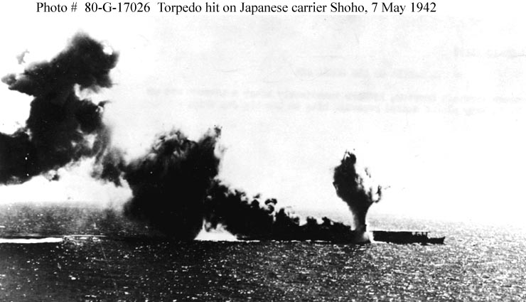 battle of coral sea The battle of the coral sea, in early may 1942 was the first major carrier  engagement of the second world war, and one of the half-dozen most significant .