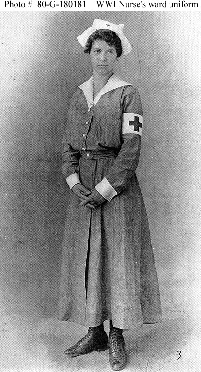 cf9ab600b2526 Reproductions Of This Image May Also Be Available Through The National  Archives Photographic Reproduction System. image number 51 of ww1 nurses  costumes ...