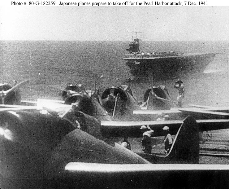 a report of the 1941 pearl harbor attack by japanese planes The japanese planned a surprise attack on pearl harbor and struck at 7:55 am on december 7th, 1941 this attack led to president franklin roosevelt asking congress.