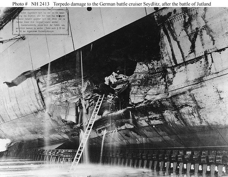 Image result for battle damage jutland