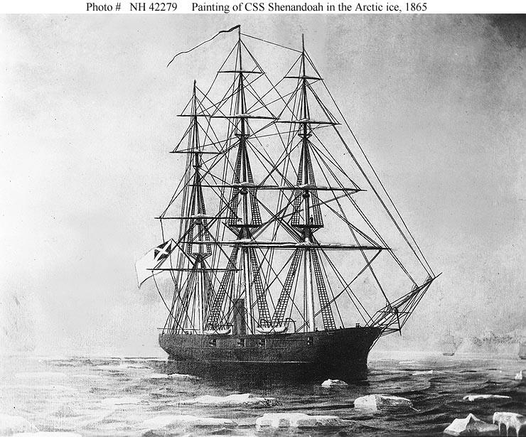 Corel Shenandoah 1864 American Cutter All Wood Ship Model Ended ...