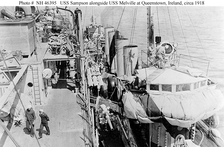 USN Ships   USS    Sampson  Destroyer   63  later DD63