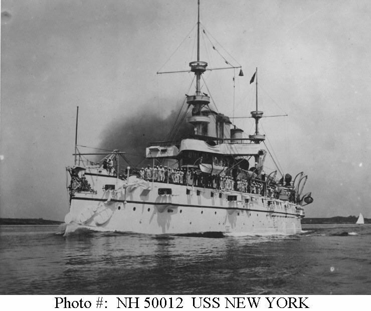 Usn Ships Uss New York Ca 2