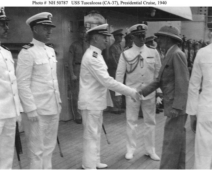 US People--Captain Daniel J. Callaghan -- Informal views ...